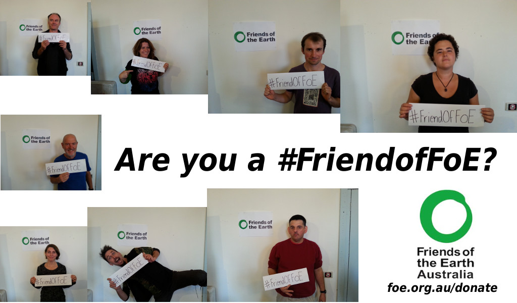 Are you a #FriendofFoE?