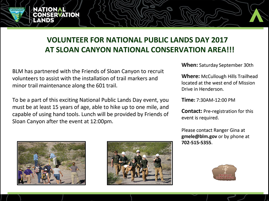 National Public Land Day 2017 Flyer