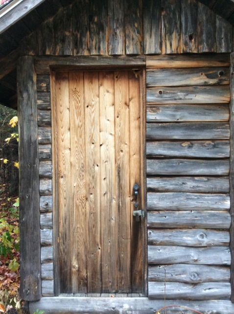 Front of old shed