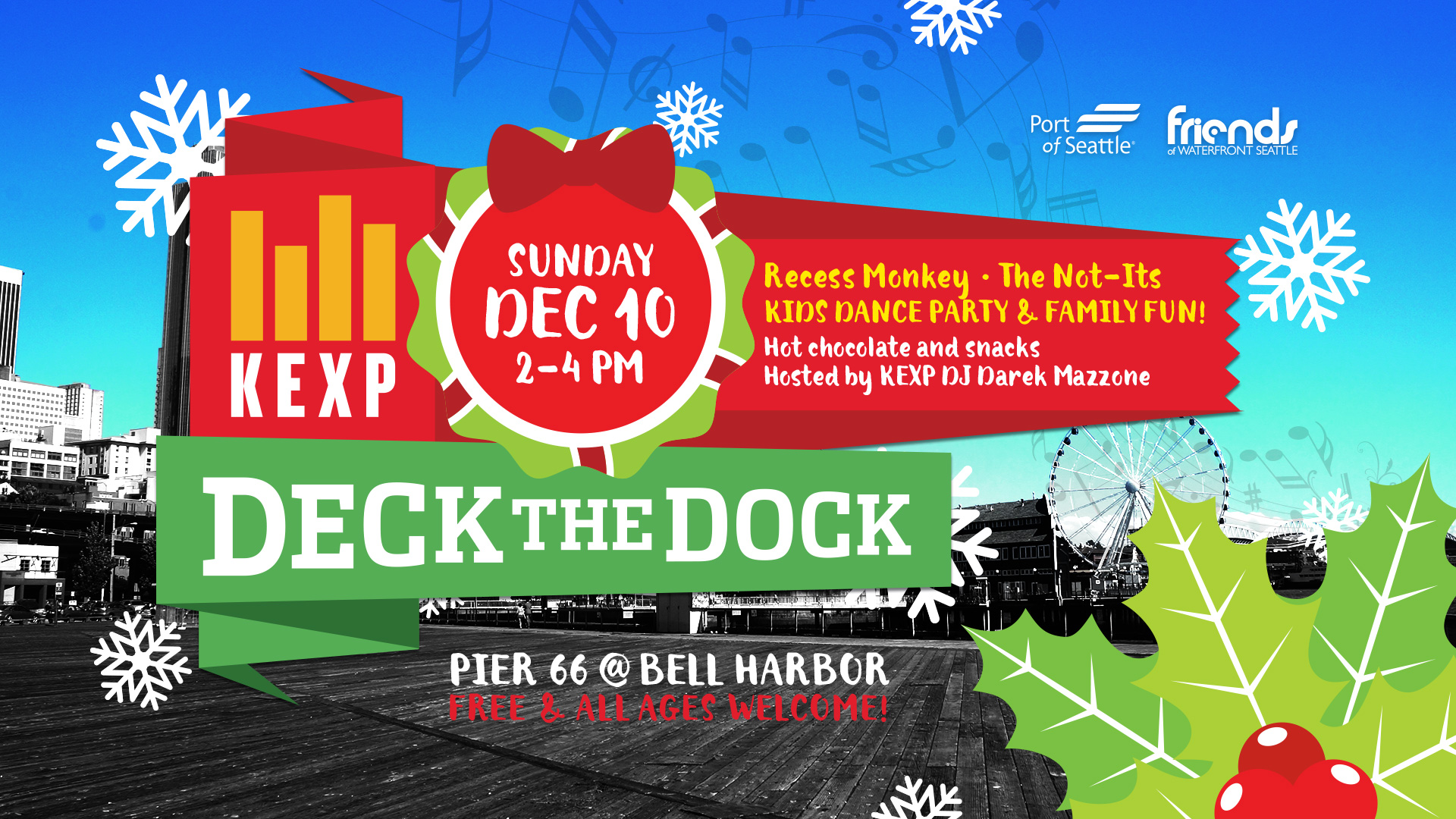 KEXP Deck The Dock 2017