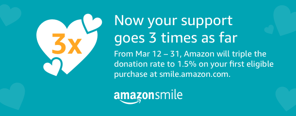 March 2018 Amazon Smile