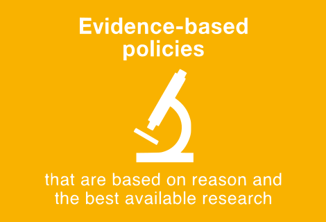 Evidence Based Policies.