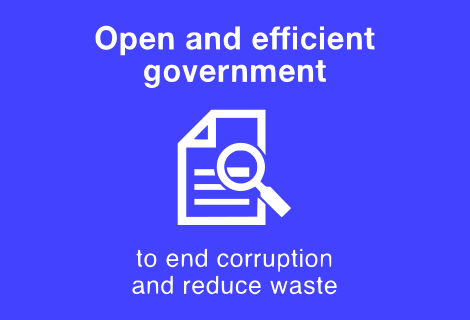 Open and Efficient Government.