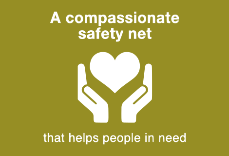 A Compassionate Safety Net.