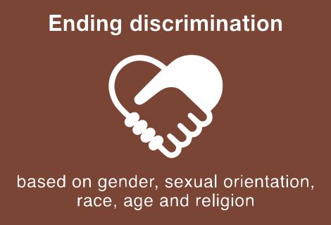 Ending Discrimination.