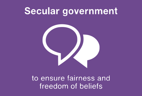 Secular Government.