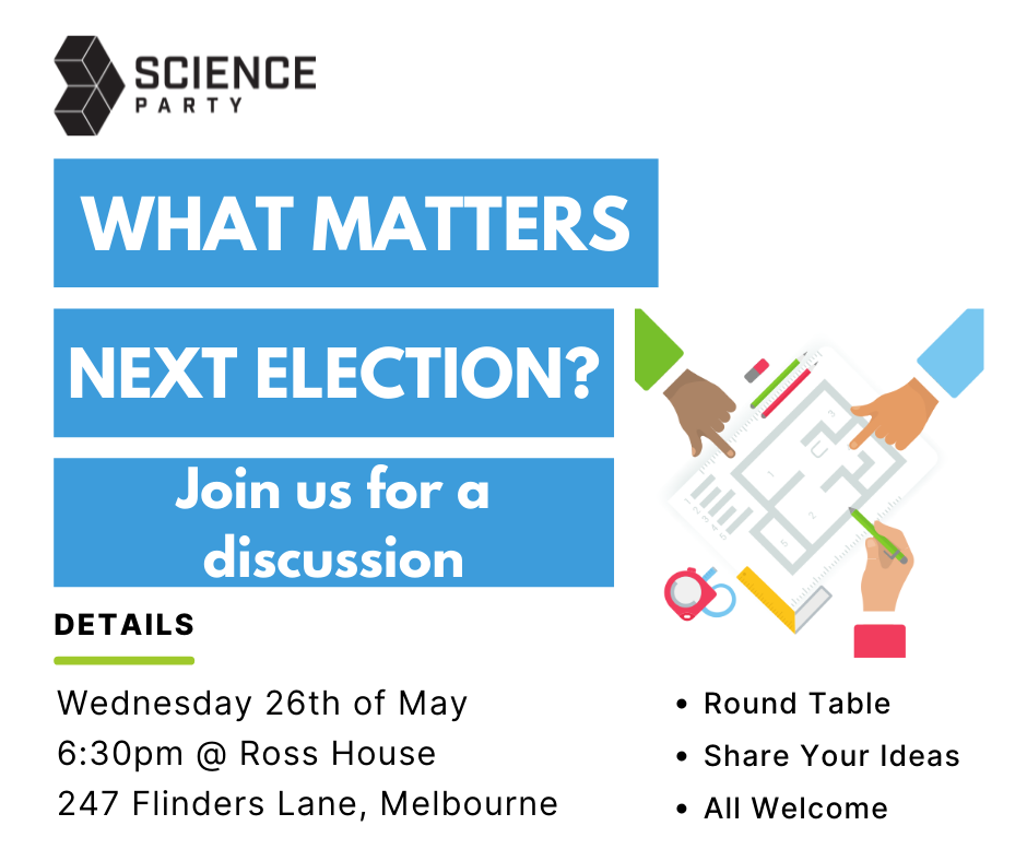 What matters at the next election? Join us for a discussion - all welcome.