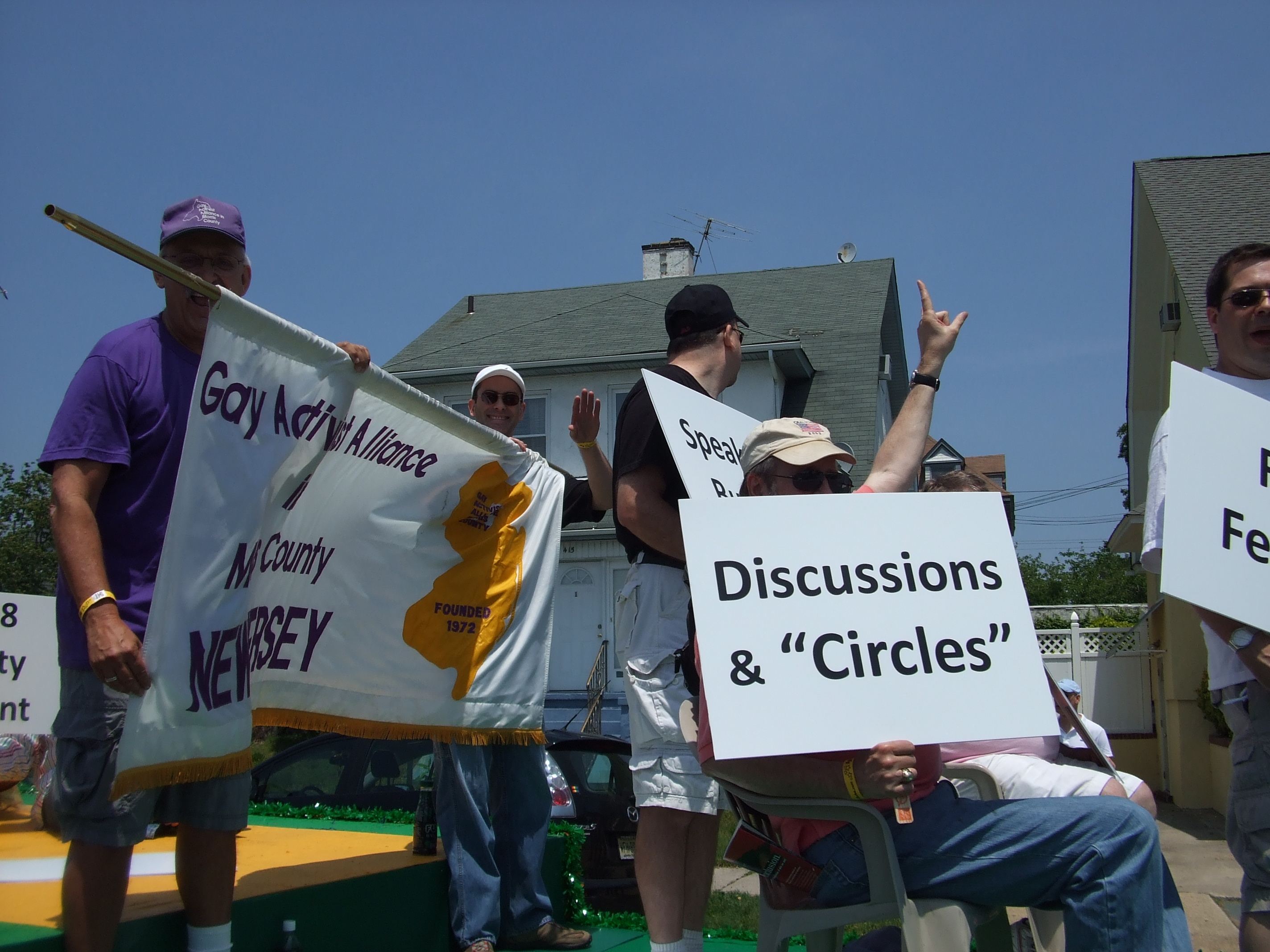GAAMC at Jersey Pride c. 2009