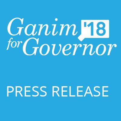Ganim Raises Nearly $800,000; Over $316,000 Cash-On-Hand