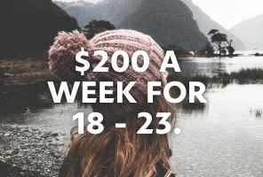 TOP 03 - $200 A WEEK FOR 18-23.