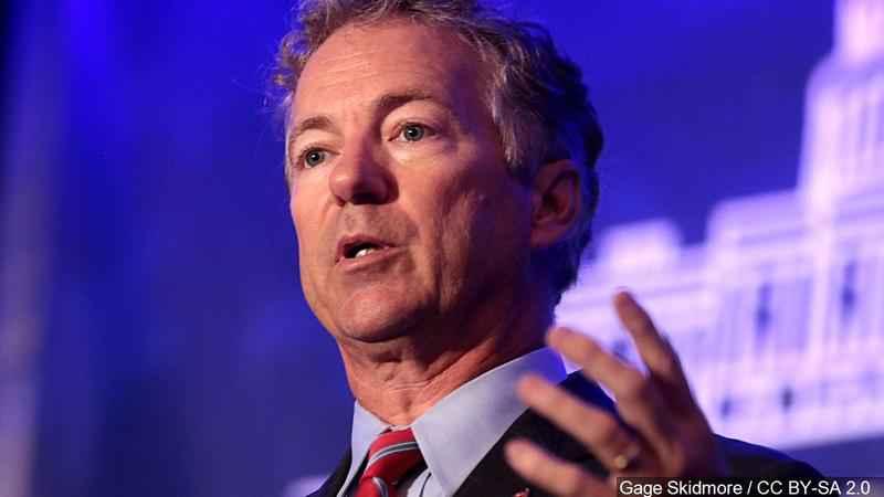Sen. Rand Paul backs Johnson in NM Senate race