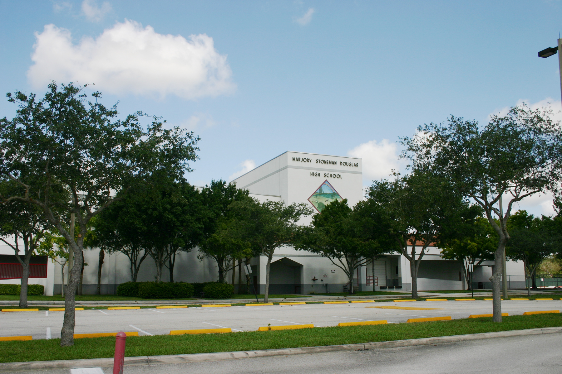 Marjory Stoneman Douglas High School, located in Parkland, Florida.