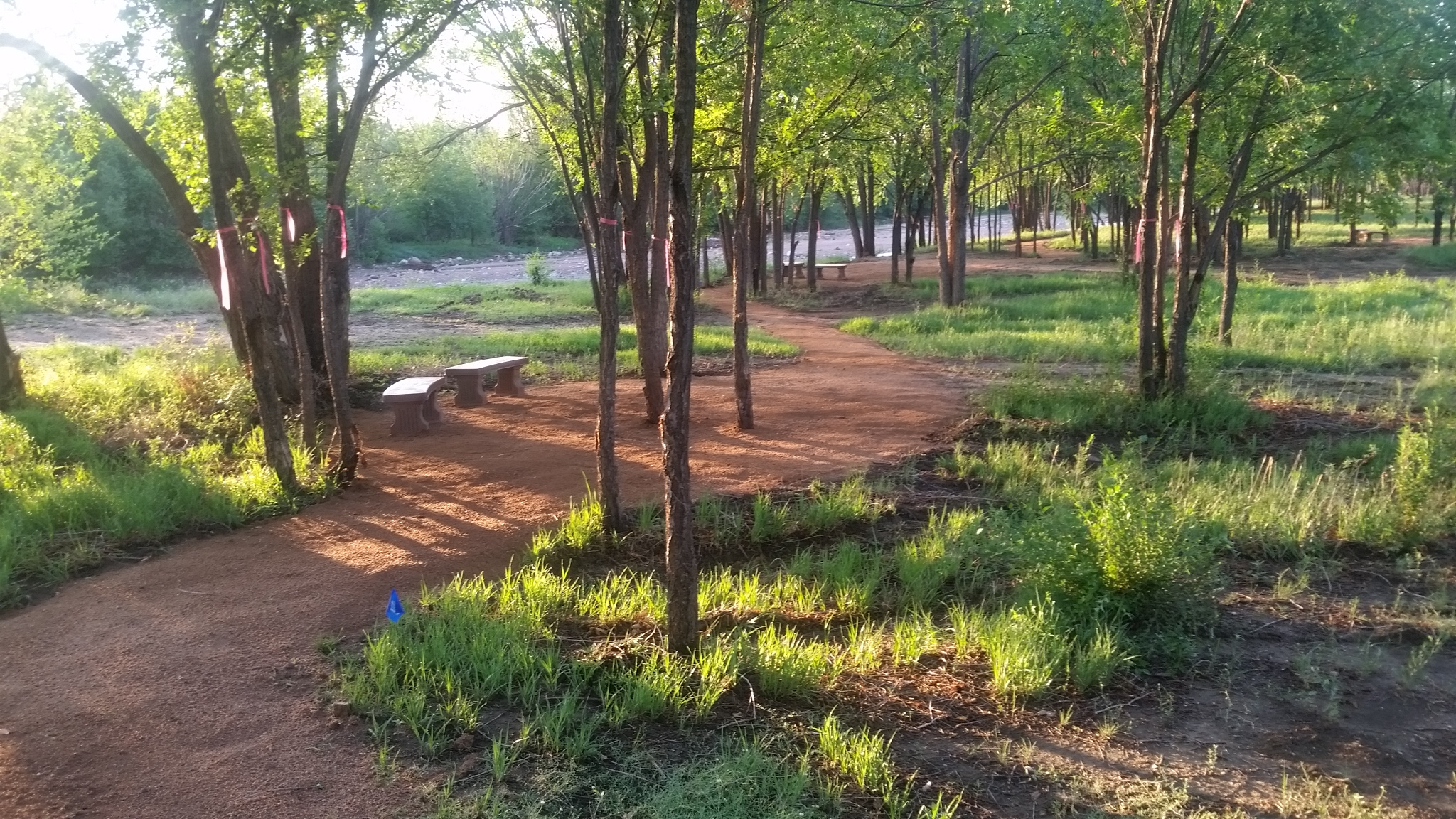 Prayer Trail Ear;ly Morning