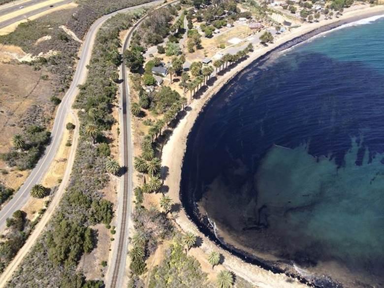Refugio Oil Spill 2015