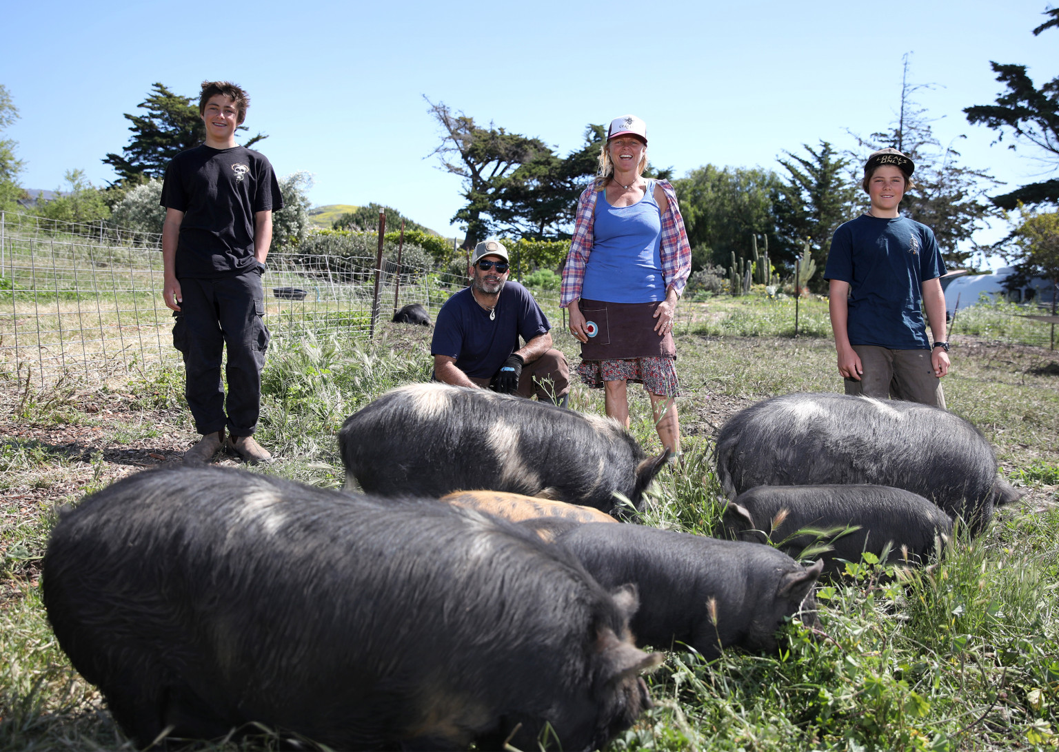 Gaviota Givings Delivers Ranch-Raised Pork