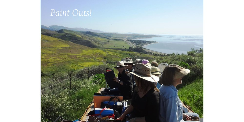 Getting a Wild Ride to the Top of Orella Ranch with All Our Painting Gear