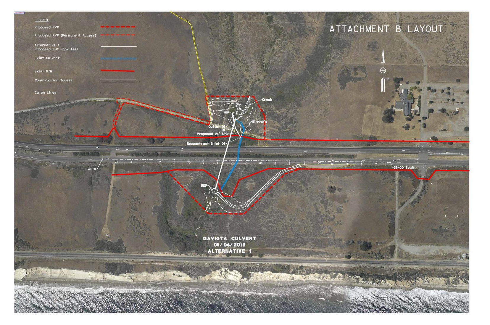 Culvert Project Site Map