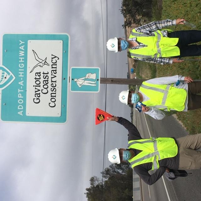 Gaviota Coast Conservancy Scenic Highway sign