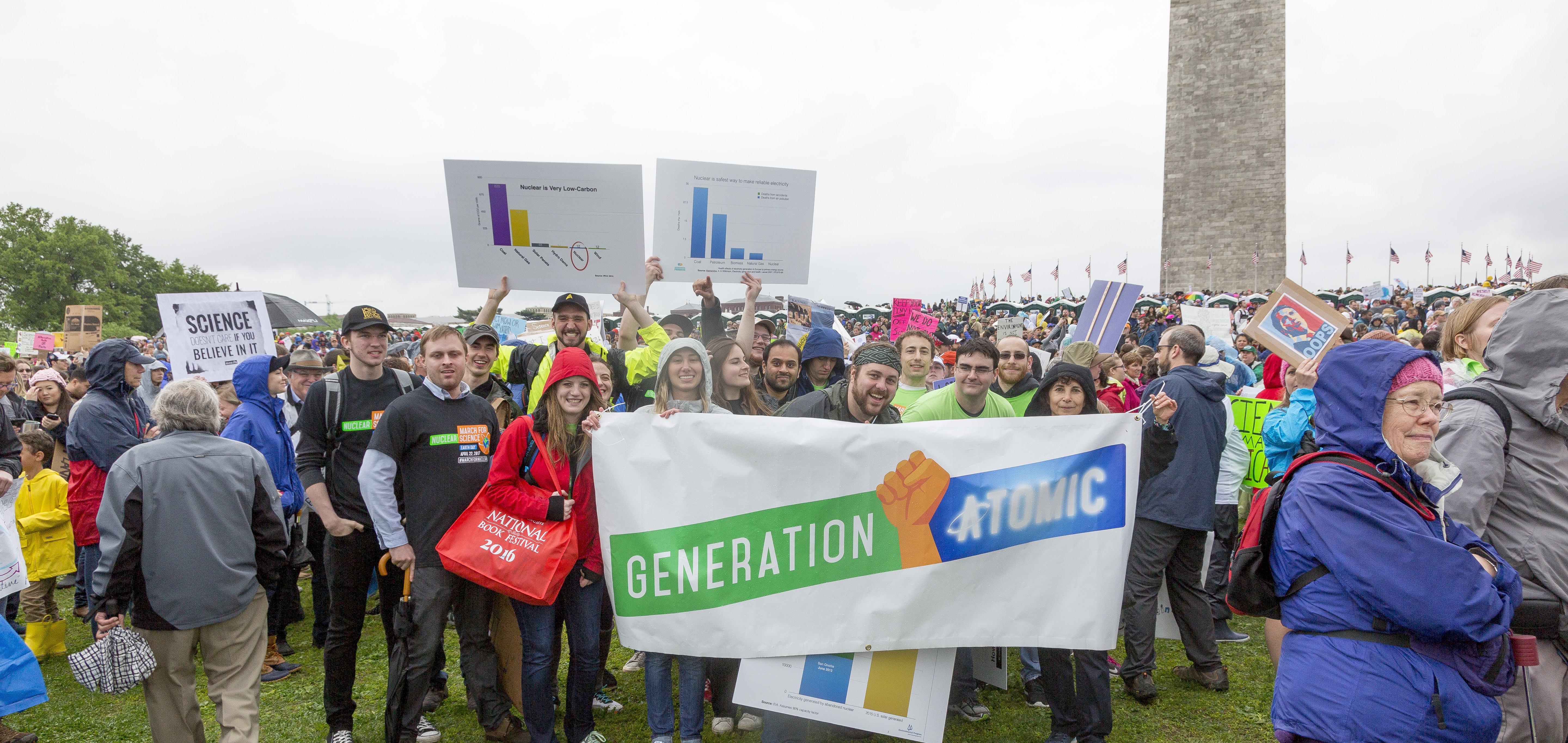 Generation Atomic March for Nuclear Science