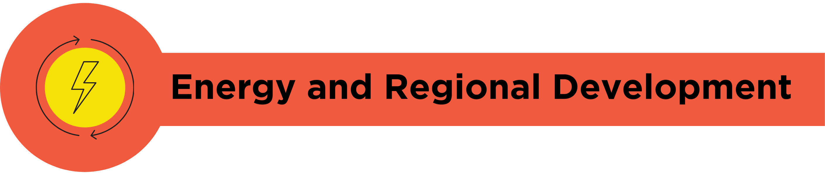 Energy and Regional Development