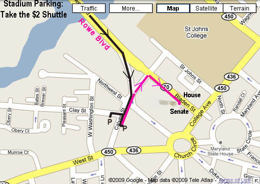 Annapolis Map