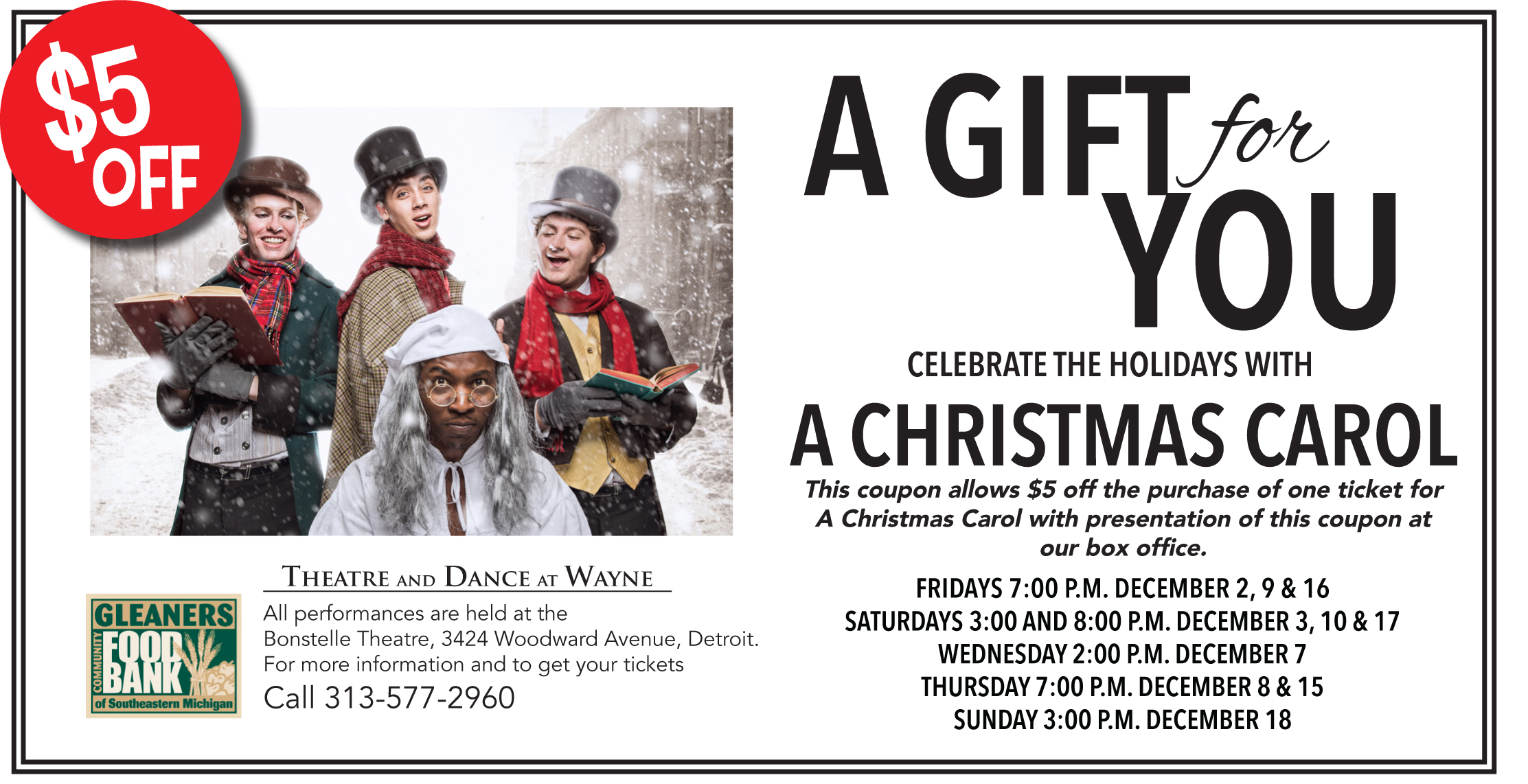 Christmas Carol coupon