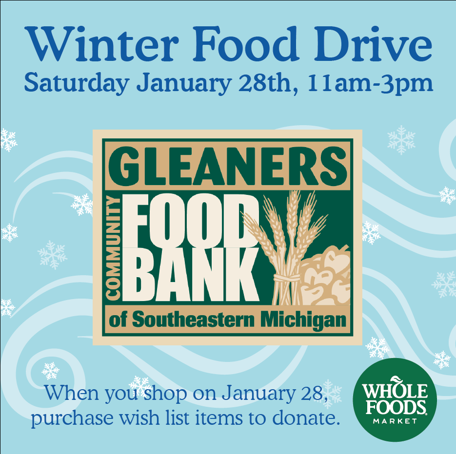 Whole Foods Winter Food Drive