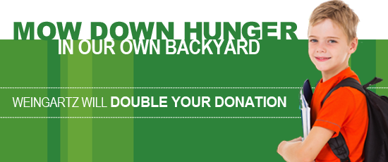 Mow Down Hunger
