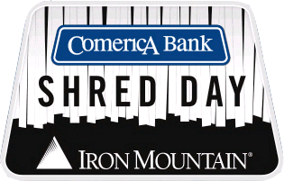 Comerica Bank's Shred Day