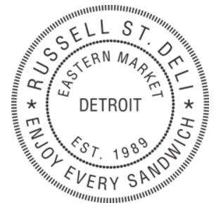 Russell Street Deli logo