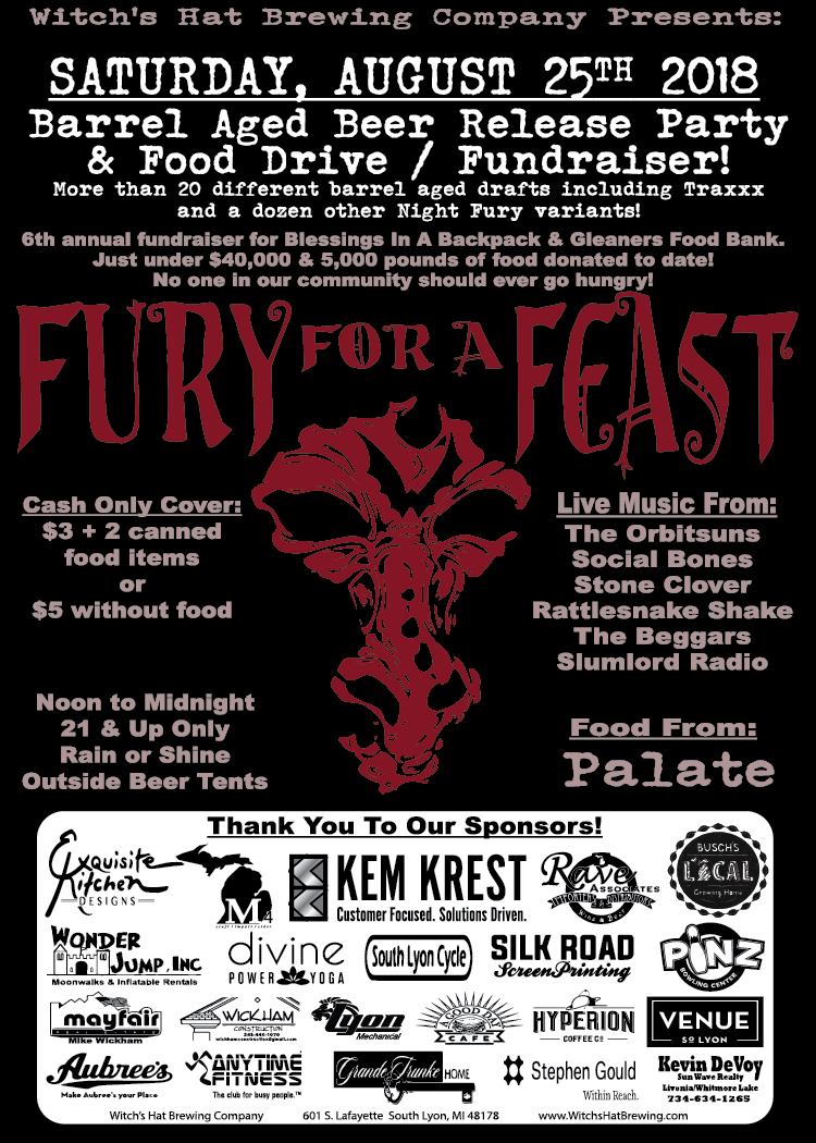 Fury for a Feast Poster