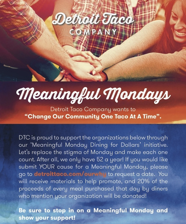 Meaningful Mondays | Gleaners Community Food Bank