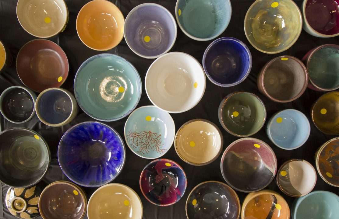 Pewabic Pottery Empty Bowls