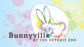 Bunnyville at the Detroit Zoo