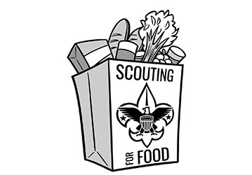 Boyscouts of America Scouting for Food | Gleaners Community Food Bank