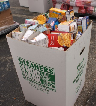 Food Drives Donation box