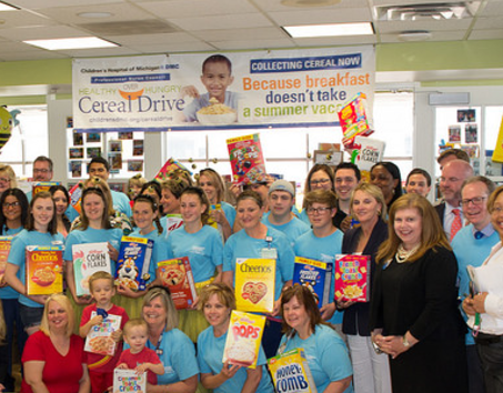 Children's Hospital Cereal Drive