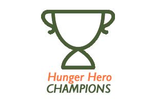 Hunger Hero School Challenge Champions