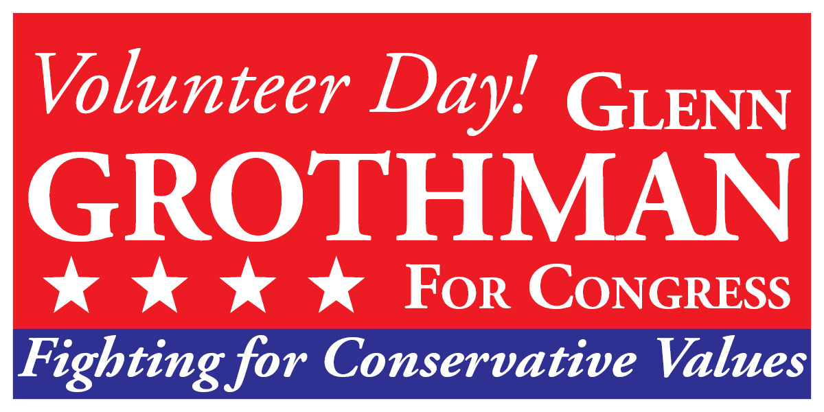 Volunteer for Glenn Grothman!