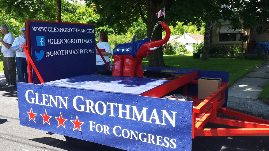 Glenn Grothman Float