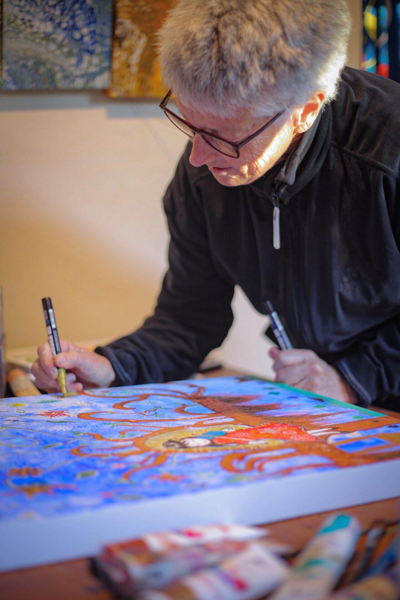 Janet Cohen art