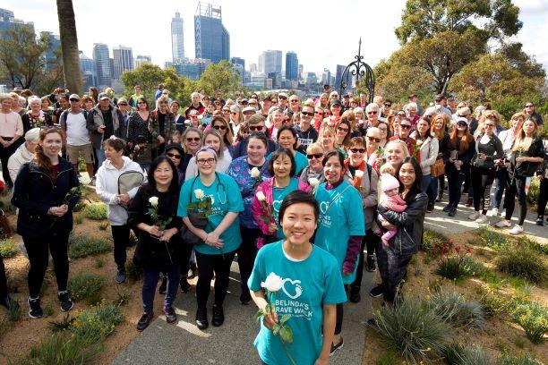 Belinda Teh on the final leg of Belinda's Brave Walk