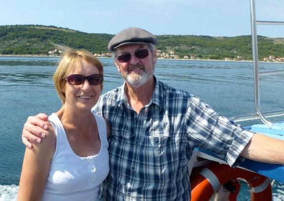 Deb Baker and husband Ron