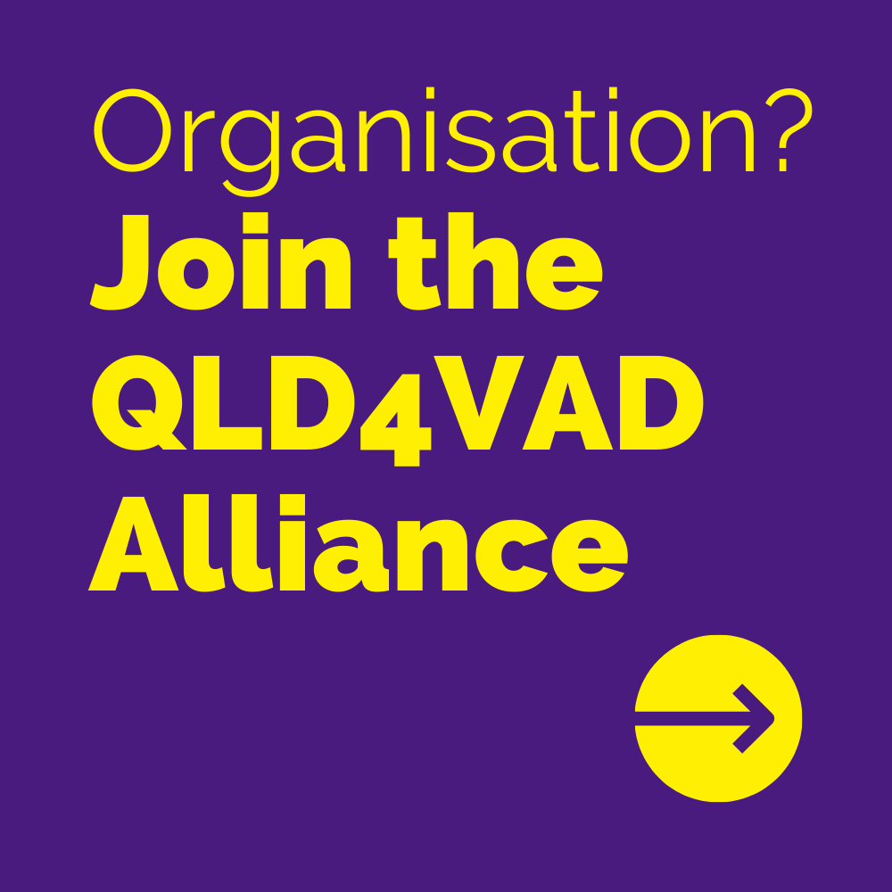 Join the QLD4VAD Alliance