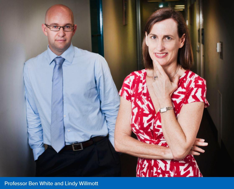 Professors Ben White & Lindy Willmott
