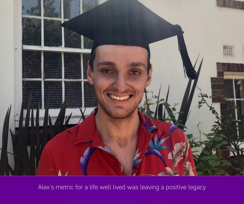 Alex Blain - a life well lived
