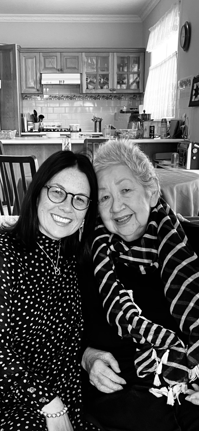 Janice and Kym Murdoch before her death through Voluntary Assisted Dying