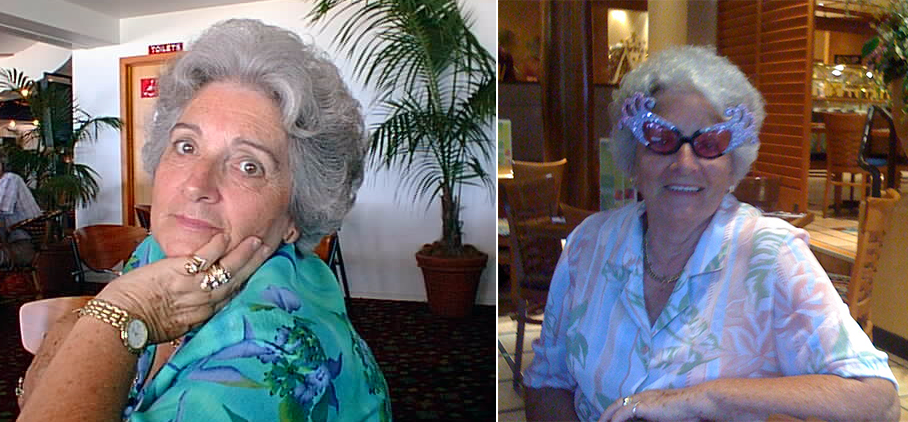 Jan's mother Dorothy.