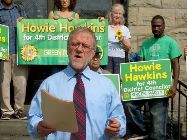 Howie Hawkins