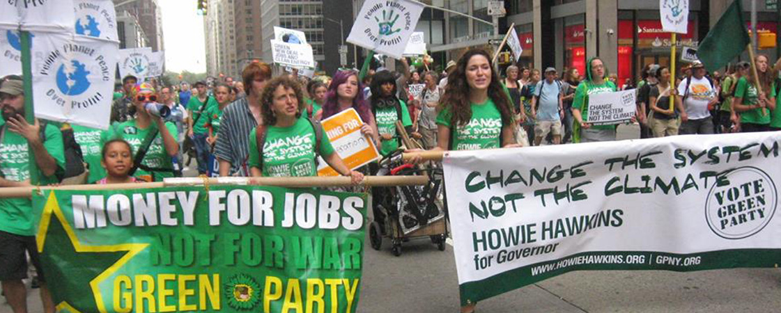 Image result for support rally for us green party